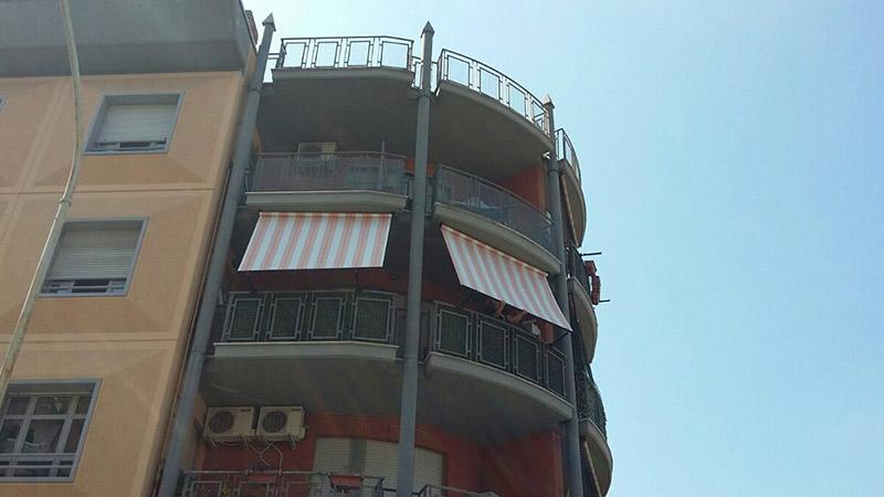 Tende a molla appartamento residenziale Roma